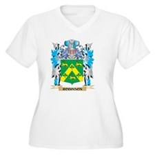Robinson Coat of Arms - Family C Plus Size T-Shirt