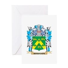 Robinson Coat of Arms - Family Cres Greeting Cards