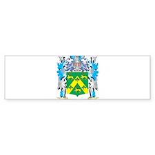 Robinson Coat of Arms - Family Cres Bumper Bumper Sticker