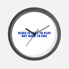 Blues is easy to play but hard to feel-Akz blue 50
