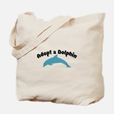 Adopt a Dolphin Tote Bag