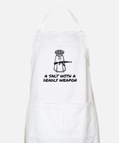 A Salt With A Deadly Weapon Apron