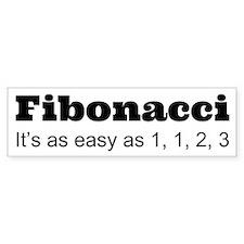 Fibonacci Bumper Bumper Sticker