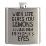 When life gives you lemons Flasks