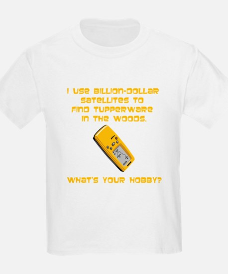 Geochaching What's Your Hobby T-Shirt