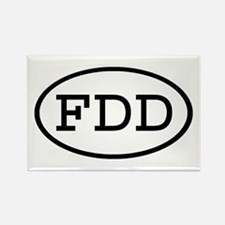 FDD Oval Rectangle Magnet