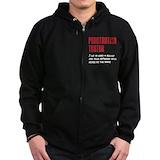 Hacking Zip Hoodie (dark)