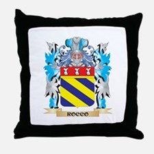Rocco Coat of Arms - Family Crest Throw Pillow