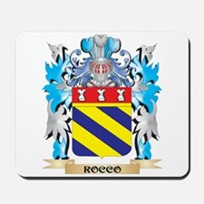 Rocco Coat of Arms - Family Crest Mousepad