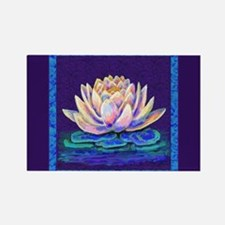 lotus blossu Magnets