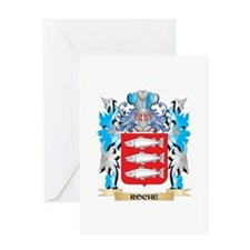 Roche Coat of Arms - Family Crest Greeting Cards