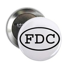 FDC Oval Button
