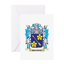 Rodarte Coat of Arms - Family Crest Greeting Cards