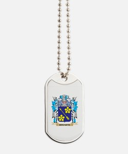Rodarte Coat of Arms - Family Crest Dog Tags