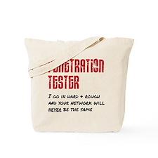 Penetration Tester: hard + rough Tote Bag