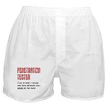 Penetration Tester: hard + rough Boxer Shorts