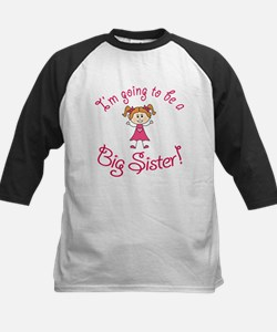 Im going to be a Big Sister! Baseball Jersey