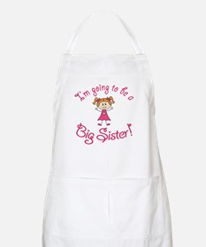 Im going to be a Big Sister! Apron