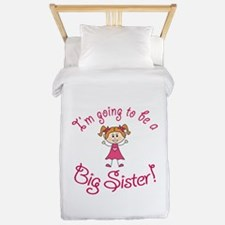 Im going to be a Big Sister! Twin Duvet