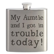 My Auntie and I got in trouble today! (Black Flask