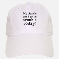 My Auntie and I got in trouble today! (Black) Baseball Baseball Cap