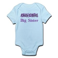 Only Child to Big Sister Body Suit