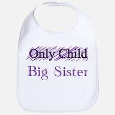 Only Child to Big Sister Bib