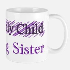 Only Child to Big Sister Mugs