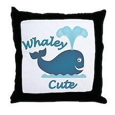 Whaley Cute Throw Pillow