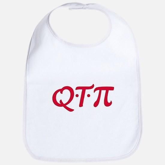 Q*T*Pi Red Bib
