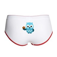 Pretty Blue Owl Women's Boy Brief