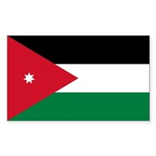 Jordan Flag Decal