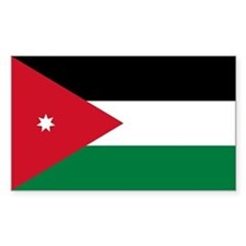 Jordan Flag Decal