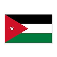Jordan Flag Rectangle Car Magnet