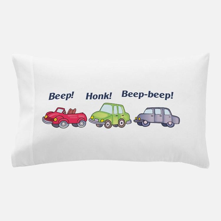 Beep-beep! Pillow Case