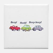 Beep-beep! Tile Coaster
