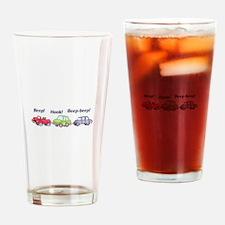 Beep-beep! Drinking Glass