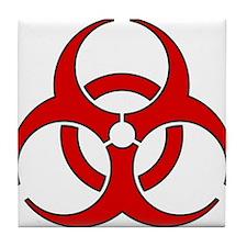 Biohazard Tile Coaster