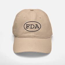FDA Oval Baseball Baseball Cap