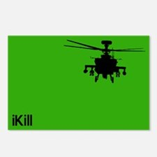 iPod LOGO APACHE AH-64 Postcards (Package of 8)