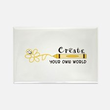 CREATE YOUR OWN WORLD Magnets