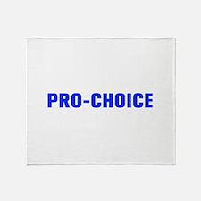 Pro Choice-Akz blue 500 Throw Blanket