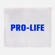 Pro Life-Akz blue 500 Throw Blanket