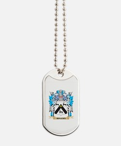 Rogers Coat of Arms - Family Crest Dog Tags
