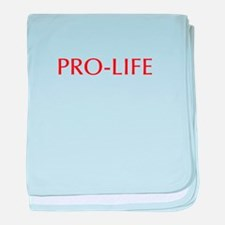 Pro Life-Opt red 550 baby blanket