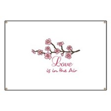 LOVE IN THE AIR Banner