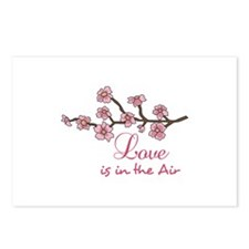 LOVE IN THE AIR Postcards (Package of 8)