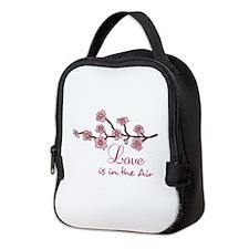 LOVE IN THE AIR Neoprene Lunch Bag