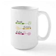 DRAW CREATE COLOR Mugs
