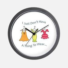 A Thing To Wear.... Wall Clock